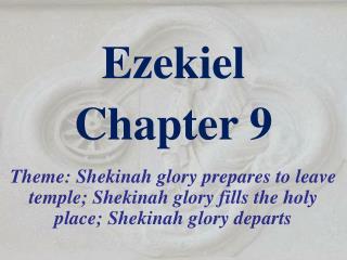 Ezekiel  Chapter 9