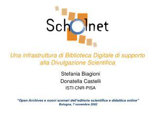 Una infrastruttura di Biblioteca Digitale di supporto alla Divulgazione Scientifica