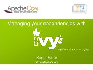 Managing your dependencies with