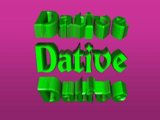 Dative 2
