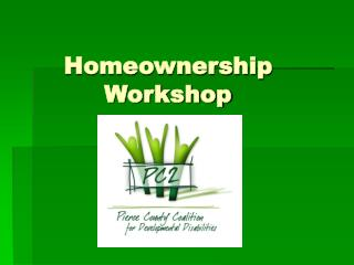 Homeownership Workshop