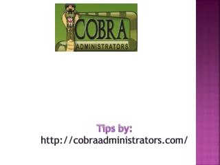 COBRA QUALIFYING EVENTS