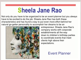 Sheela Jane Rao