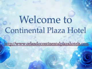 orlando continental plaza hotel international drive