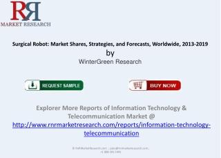 Global Surgical Robot Market Shares, Strategies 2013-2019