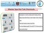 Master Spa Hot Tub Chemicals
