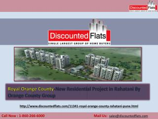 Buy Luxurious Apartments in Rahatani- Royal Orange County