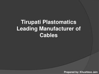Tirupati Plastomatics