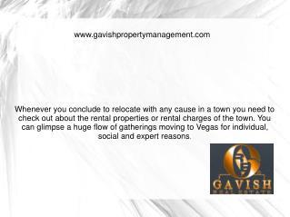 Rental homes Las Vegas
