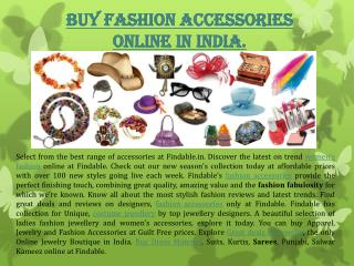 Buy Fashion Accessories, Costume Fashion Jewellery