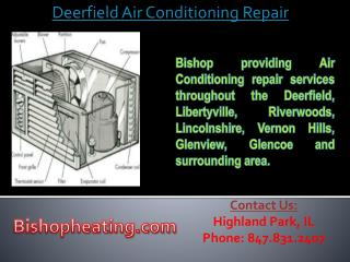 Deerfield Air Conditioning Repair