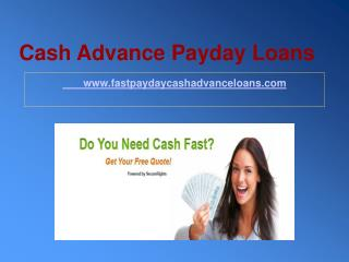Cash Advance Dayton Ohio
