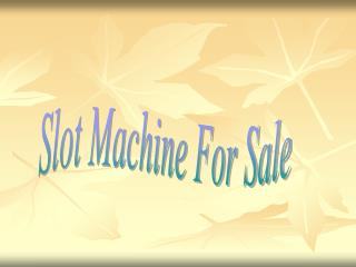 video poker slot machines