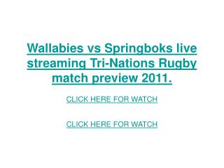 wallabies vs springboks live streaming tri-nations rugby mat