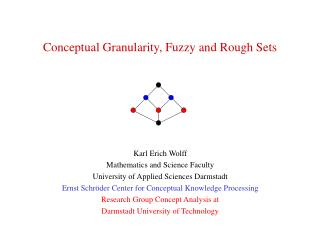 Conceptual Granularity, Fuzzy and Rough Sets