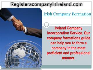 Irish Company Formation