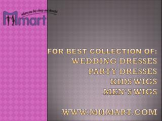Miimart-Designer wedding dresses