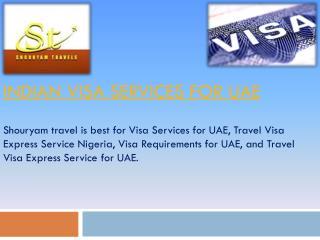 Indian Visa Services for UAE