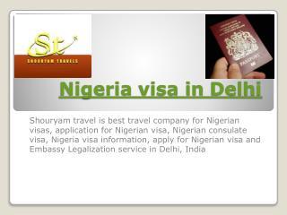 nigeria visa in delhi