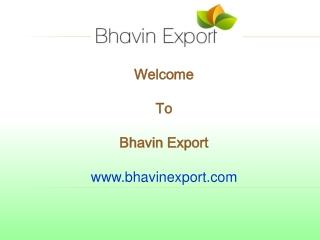 Exports Castor, Cumin, Sesame, Fennel, Psyllium, Fenugreek