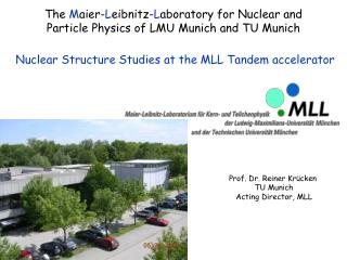 The Maier-Leibnitz-Laboratory for Nuclear and Particle Physics of LMU Munich and TU Munich