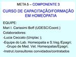 META 5   COMPONENTE 3 CURSO DE CAPACITA  O