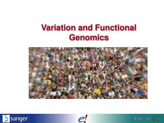 Variation and Functional Genomics