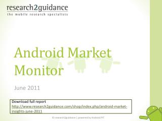 android market insights vol. 3