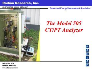 The Model 505 CT