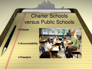 Charter Schools versus Public Schools