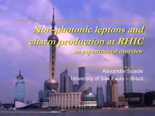 Non-photonic leptons and charm production at RHIC an experimental overview