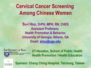 Cervical Cancer Screening  Among Chinese Women