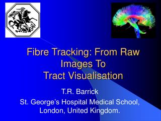Fibre Tracking: From Raw Images To Tract Visualisation