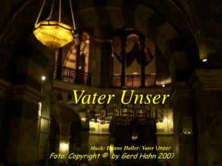 Musik: Hanne Haller: Vater Unser