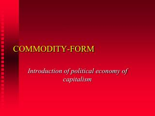 COMMODITY-FORM