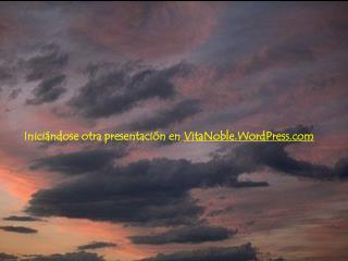 Inici ndose otra presentaci n en VitaNoble.WordPress