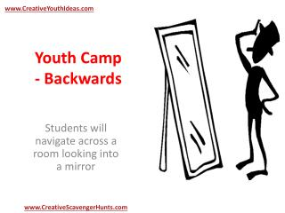 Youth Camp - Backwards