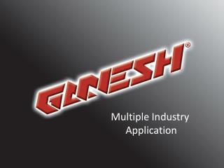 Ganesh: Multiple Industry Application