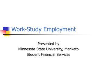 Work-Study Employment