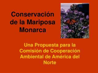 Conservaci n de la Mariposa Monarca