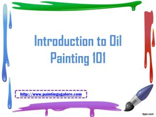 introduction to oil painting 101