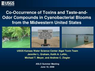 Co-Occurrence of Toxins and Taste-and-Odor Compounds in Cyanobacterial Blooms from the Midwestern United States