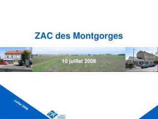 ZAC des Montgorges