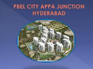 Pbel New Project Hyderabad