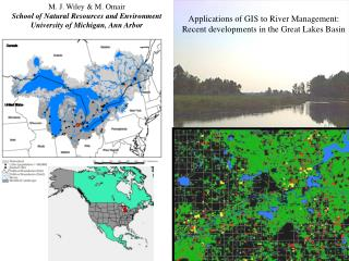 Applications of GIS to River Management: Recent developments in the Great Lakes Basin