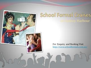 school formal on sydney harbour