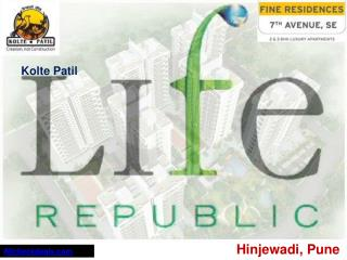 Kolte Patil Life Republic Apartment Call @ 9970281468