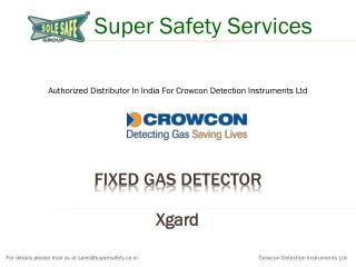 Fixed Gas Detector, Hydrogen and Oxygen Gas Detector