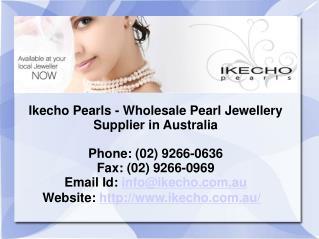 Freshwater Pearls in Australia