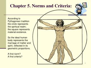 Chapter 5. Norms and Criteria: